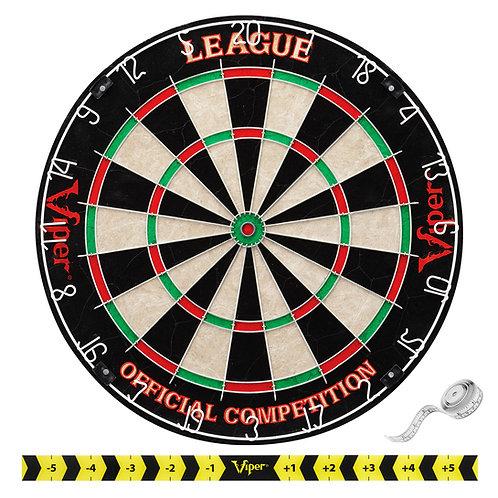 Viper League Sisal Dartboard