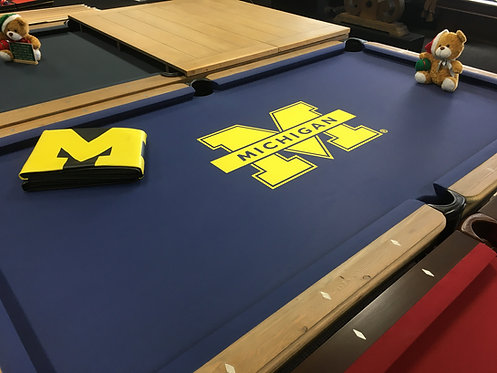 8' CHADHAM U of M pool table