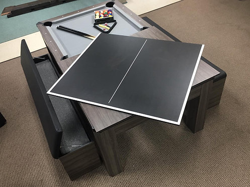 7' Atomic Pool Table / Ping Pong / Dining Table Combo