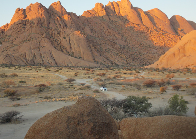 Spitzkoppe Mountains