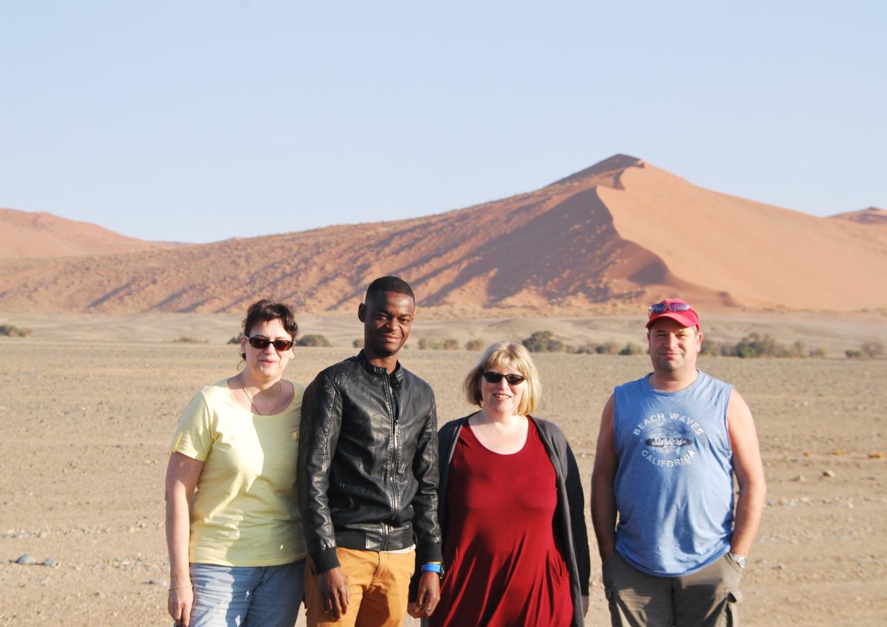 Guided Tour in Sossusvlei