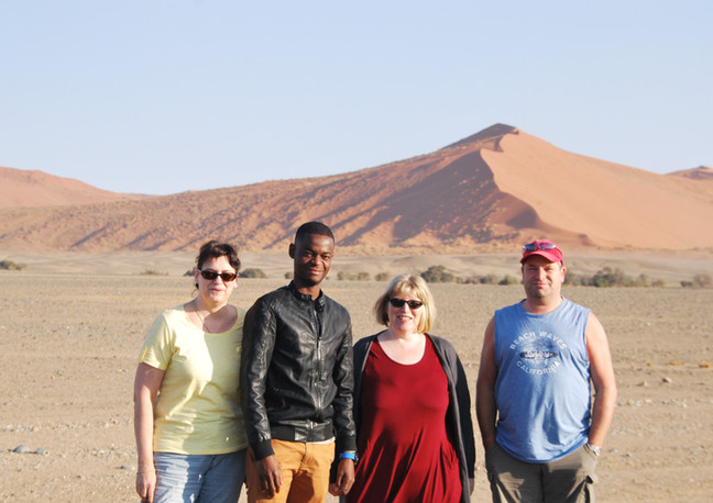 Guided Tour in Sossusvlei