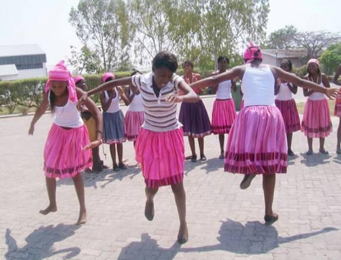 Aawambo traditional dance