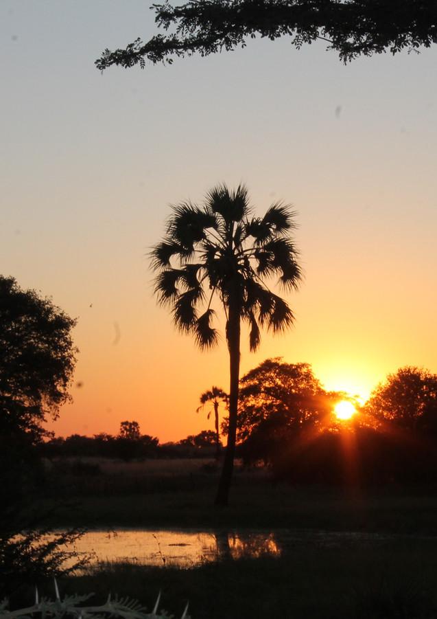 Sunset in Ovamboland