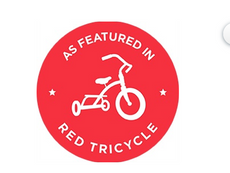 Red Tricycle + tiny treasures nannies.pn