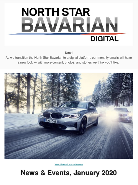 North Star Bavarian January, 2020