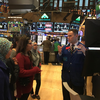 Visit to NYSE