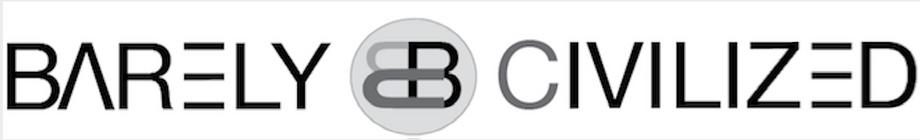 barelycivilized logo design by ea ideas