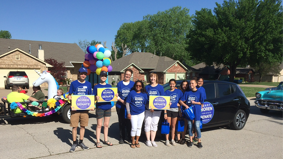 Get out and Vote! Mary Boren for OK SD16