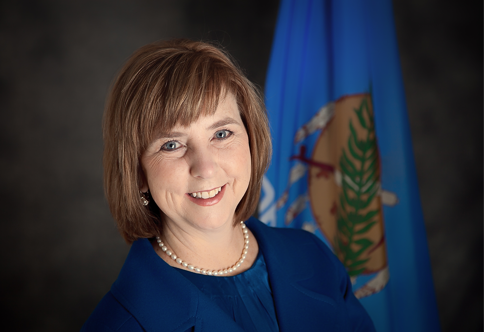 Senator Mary Boren for OK SD16. Learn mo