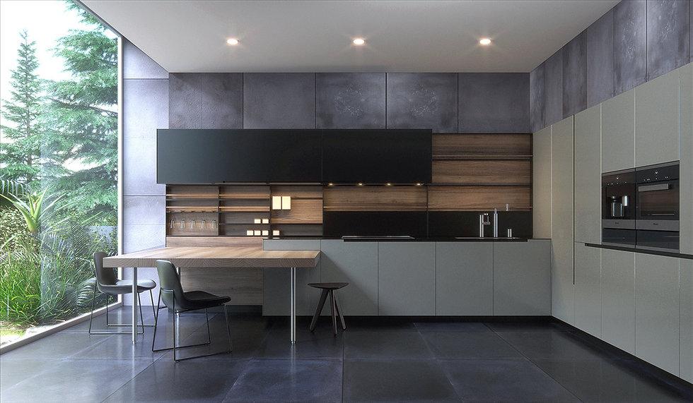 rustic modern cabinets by zephyr. cabinetsbyzephyr.com