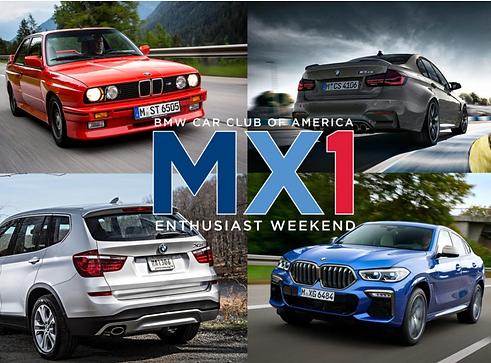 BMW Car Club of America  M Chapter Carav