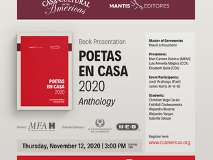 Book Presentation: Poetas en Casa 2020 - Anthology