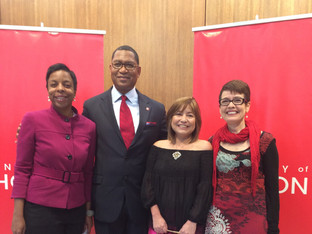 Dr. Elizabeth Quila, Chairman of the Board,and Deanea LeFlore, President of CCA Were Present at the