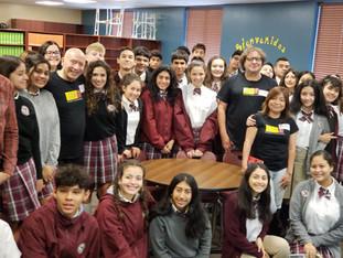 Authors visit at KWHS