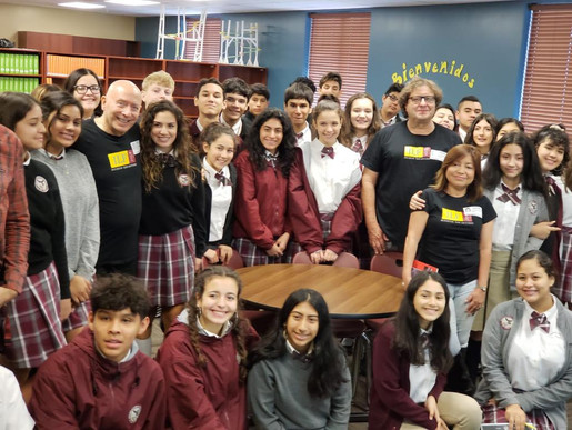 Authors visit at KWHS