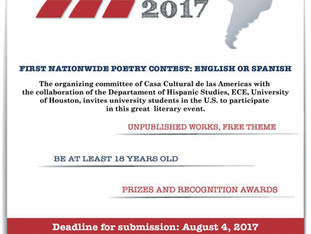 CCA Announces Its First National Poetry Contest For University Students