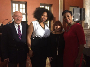 Dr. Elizabeth Quila and Deanea LeFlore Represented CCA at the Houston Poet Laureate Reception Hosted