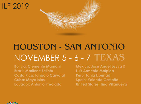 International Literature Festival Houston – San Antonio 2019