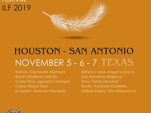 International Literature Festival Houston – San Antonio 2019