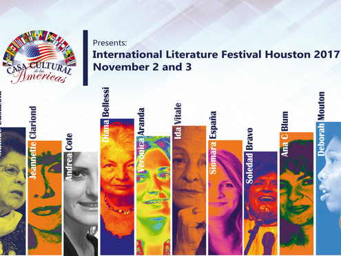CCAmericas Announces the Initial Lineup of the International Literature Festival - Houston 2017