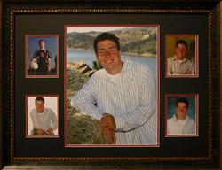 Senior high school photo collage