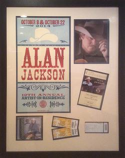 Alan Jackson mementos