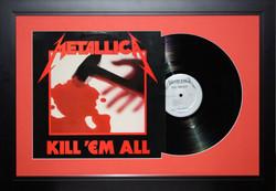 Metallica album cover & record