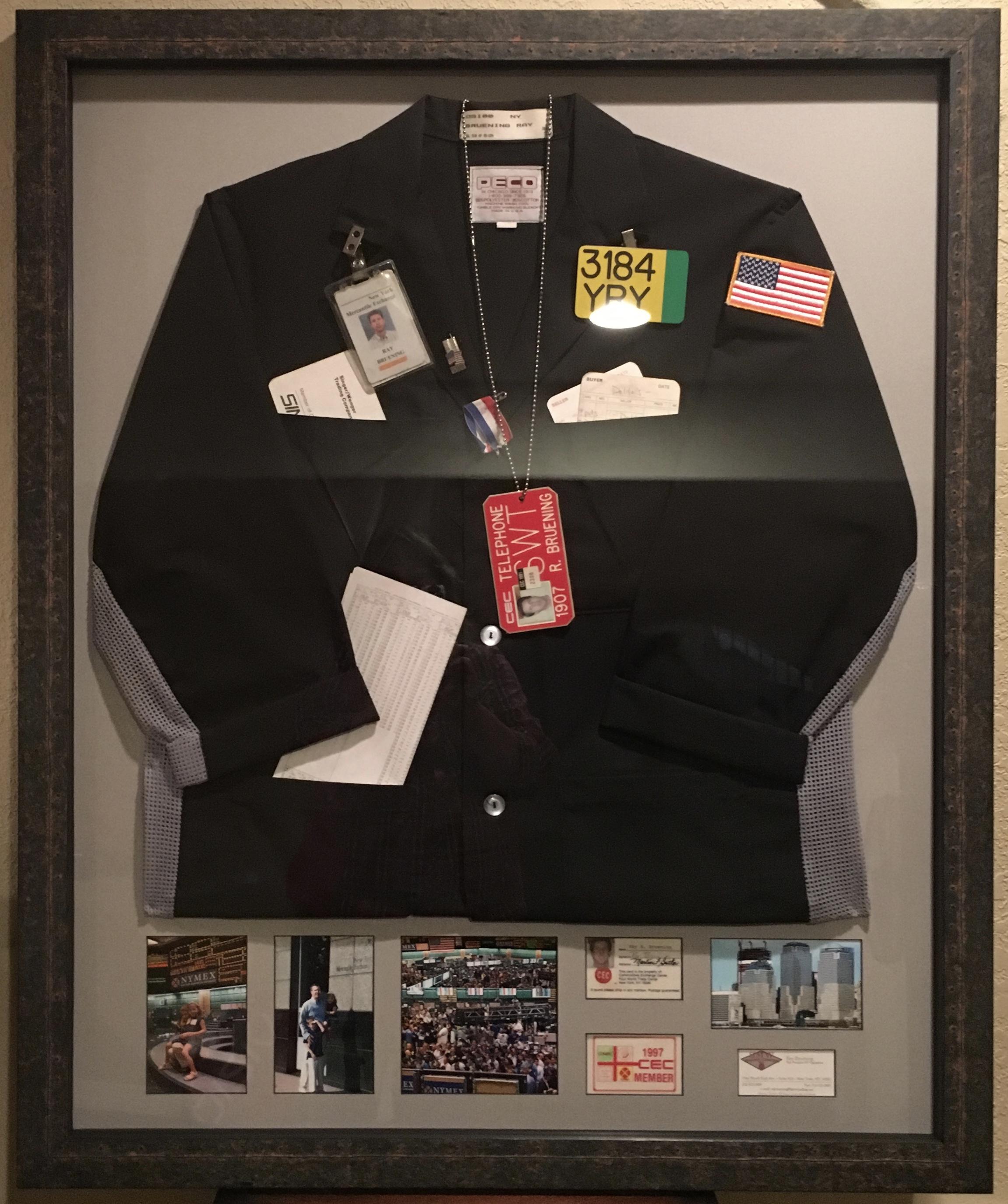 Wall Street trading jacket