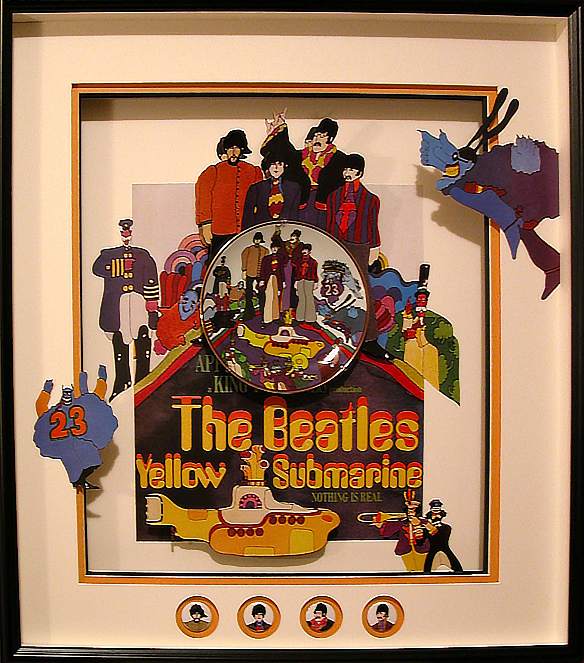Yellow Submarine shadowbox