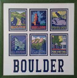 Boulder, CO postcards