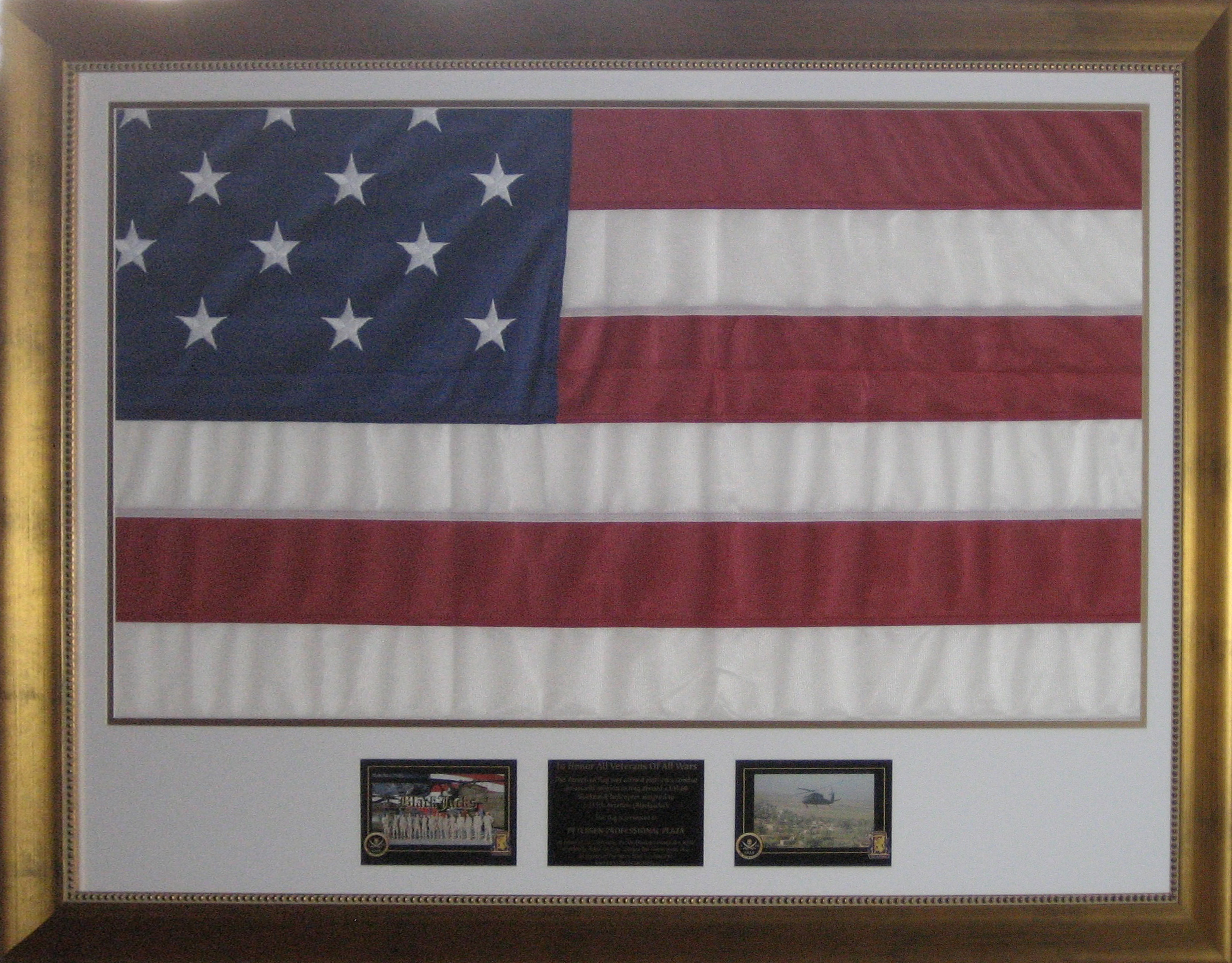 Flag flown in middle east