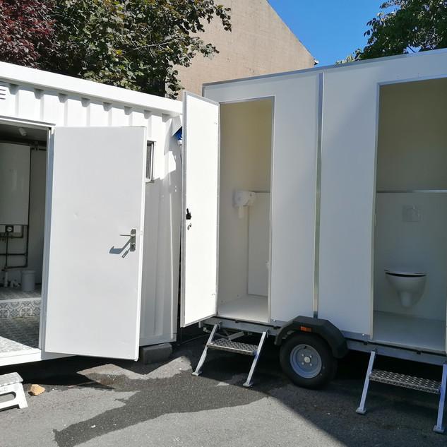 Badkamer en toiletten