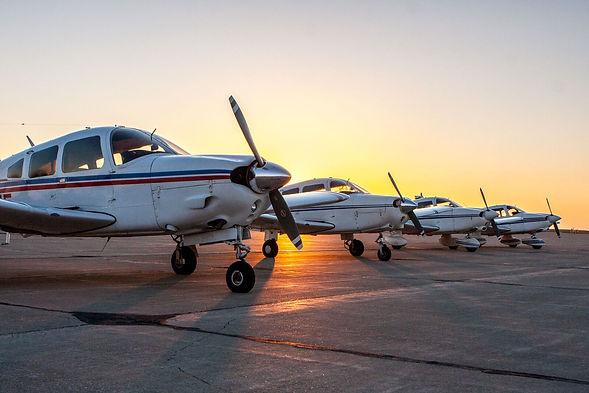 Club Spot  4 aircraft sunset noses.jpg