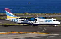 ATR-42-600 in run way