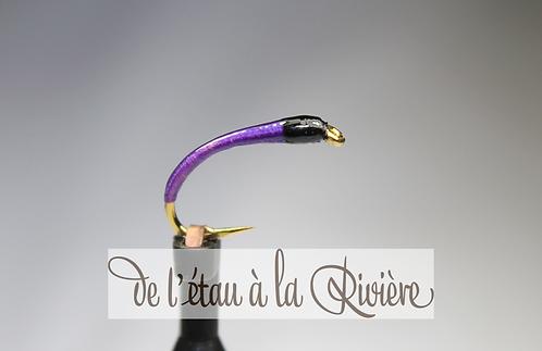 Nymphe de chironome réf : Chirolav3 violet