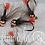 "Thumbnail: Nymphe ""JIG1"" Bille tungstène cuivre/rouge"