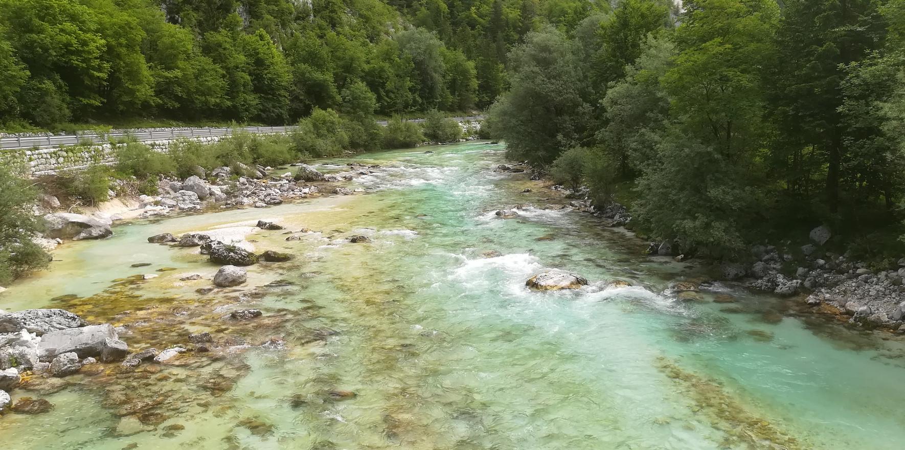 La Soca en Slovénie