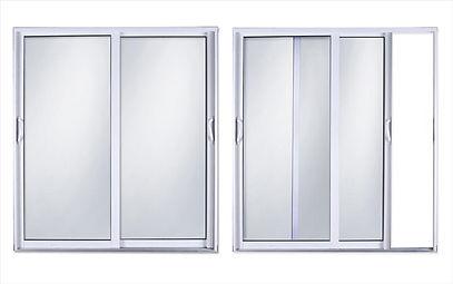Impact sliding glass door