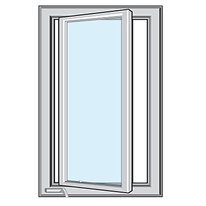 Impact Casement Window