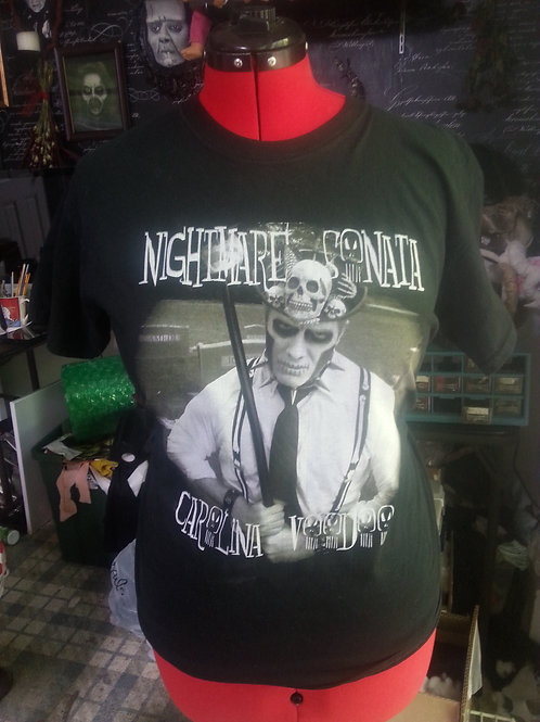 "Nightmare Sonata ""Carolina Voodoo"" t-shirt"
