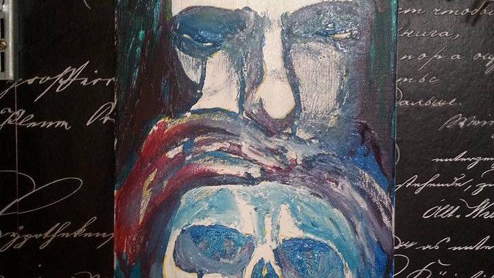 "New Peter Steele painting ""Everything Dies"""