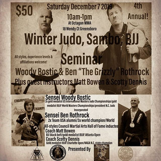 Coming to _octagongym December 7! This S