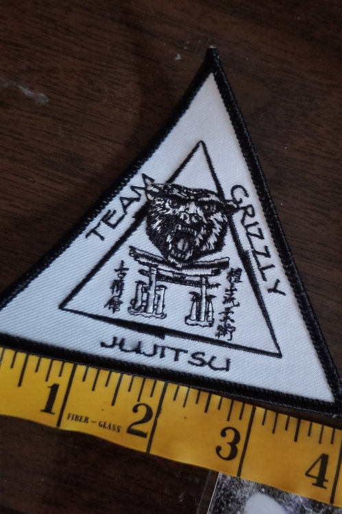 Team Grizzly or SESA embroidered patch