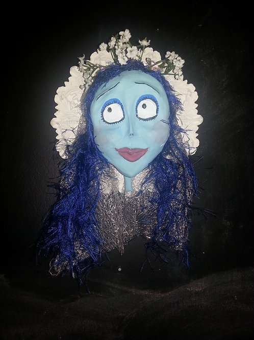 The Corpse Bride Framed 3D sculpture