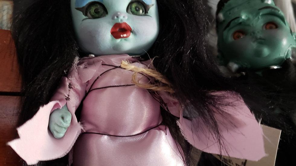 Tiny handmade dolls
