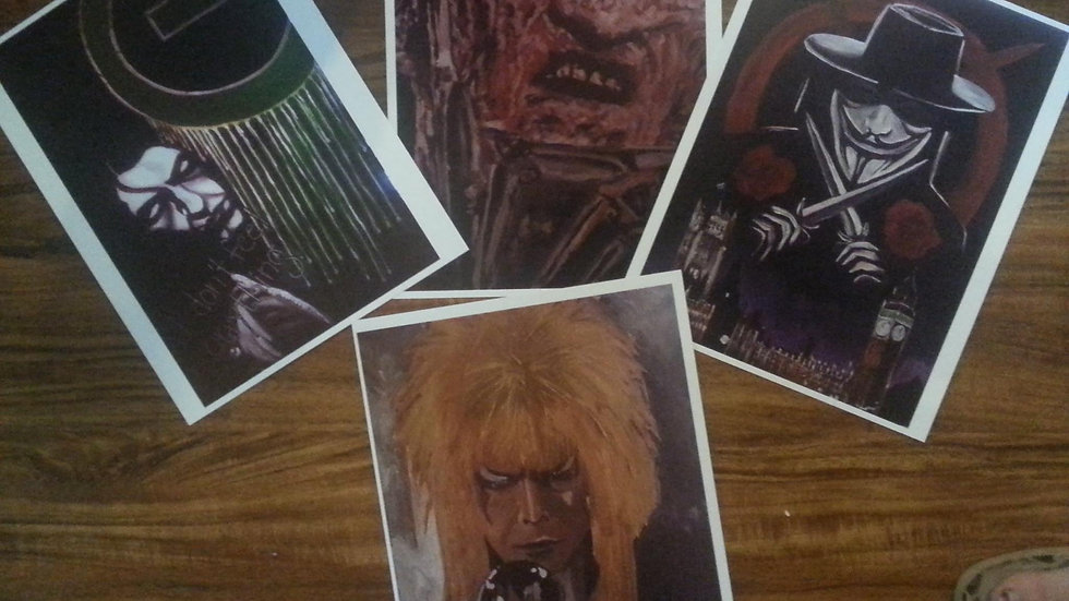 New prints!  Not Matted.