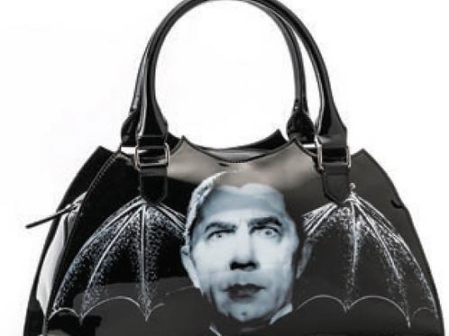 Bat or coffin shaped handbags!!
