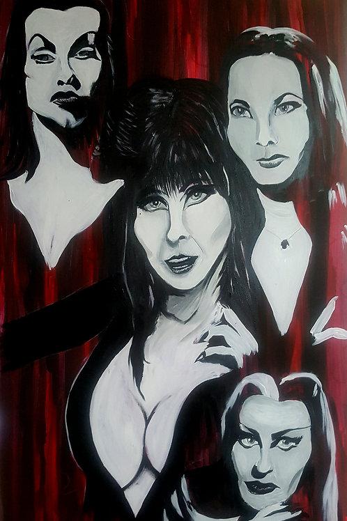 Ladies of Horror large painting!