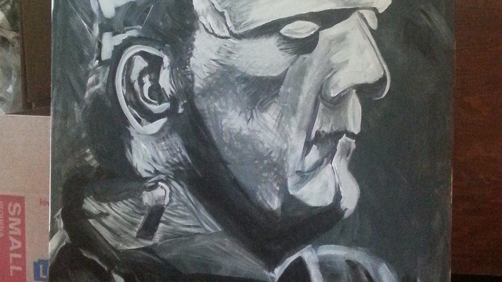 NEW large Frankenstein painting!